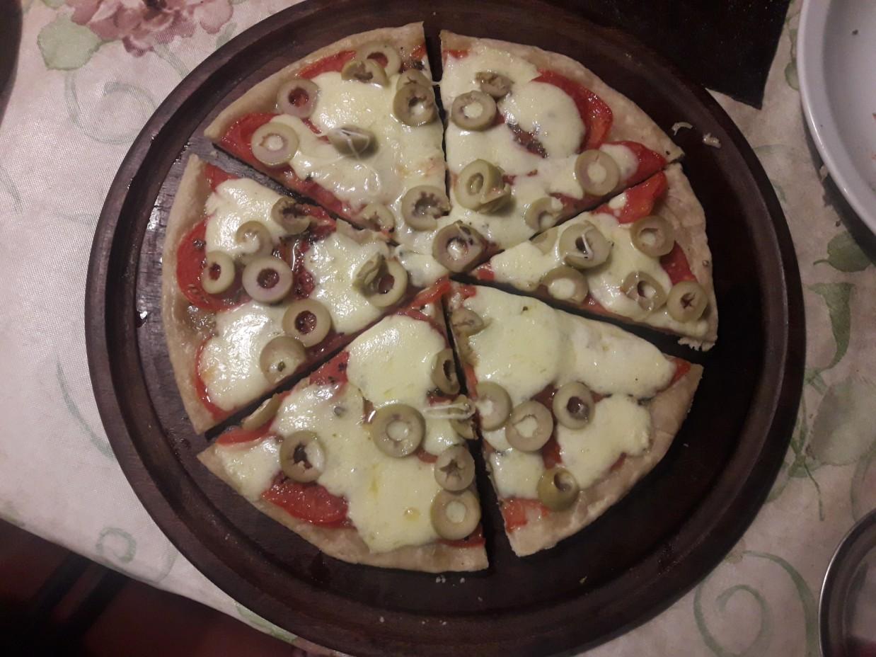 Pizza y fugazza